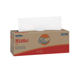 05790 Wypall L40 White Wipers (16.4x9.8) Pop Up Box - 900