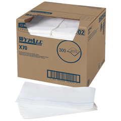 05925 Wypall X70 White Foodservice Wipers