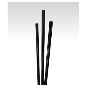 "STNST1270501/ST201B Black 5"" Unwrapped Cocktail Stirrers -"