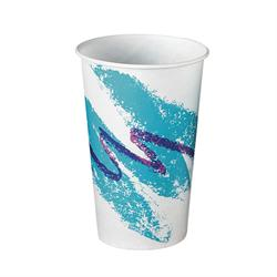 RW16-00055 Solo Jazz 16 oz. Wax Cold Cup - 1000(20/50)
