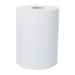 "12388 Scott Slimroll 8""X580' White Hard Roll Towels - 6"