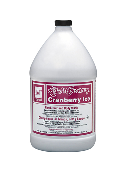 315204 Lite'n Foamy Cranberry Ice Hand, Hair, And Body Wash