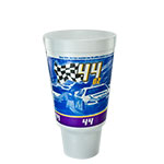 44AJ32RPM Flush Fill 44 oz. RPM Foam Stock Print Cups -