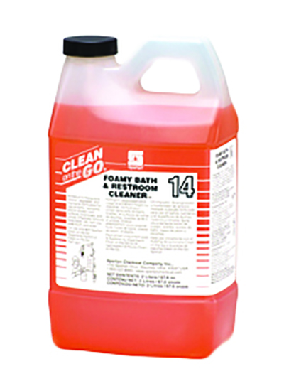 481502 COG Foamy Bath & Restroom Cleaner - 4(4/2L)