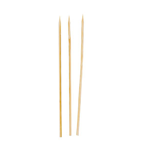 "R806 6"" Thin Bamboo Skewers - 19200 (12/16/100)"