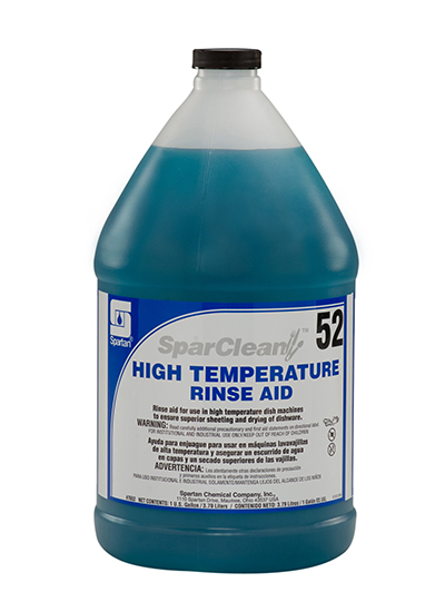 7652-04 SparClean High Temperature Rinse Aid 52 -