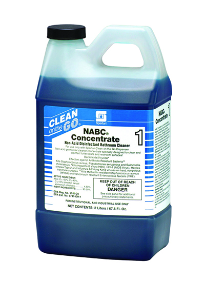 471602 NABC Clean on the Go Concentrate - 4(4/2 Liter)