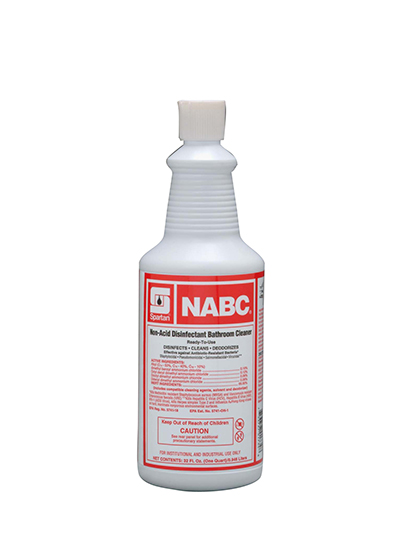 711603 NABC Non-Acid Disinfectant Bathroom Cleaner