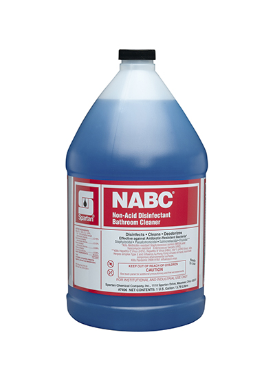 749604 NABC Non-Acid Disinfectant Bathroom Cleaner