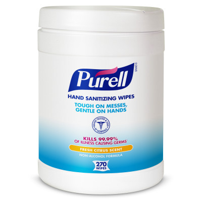 9113-06 Purell Hand Sanitizing Wipes - 6 (6/270)