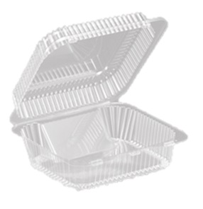 SLP5120CS Clear 12 ct. Cookie Containers - 250