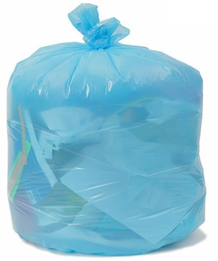 PC46XHBU Blue 40x46 .70 Mil. 40 to 45 Gal. Can Liners -