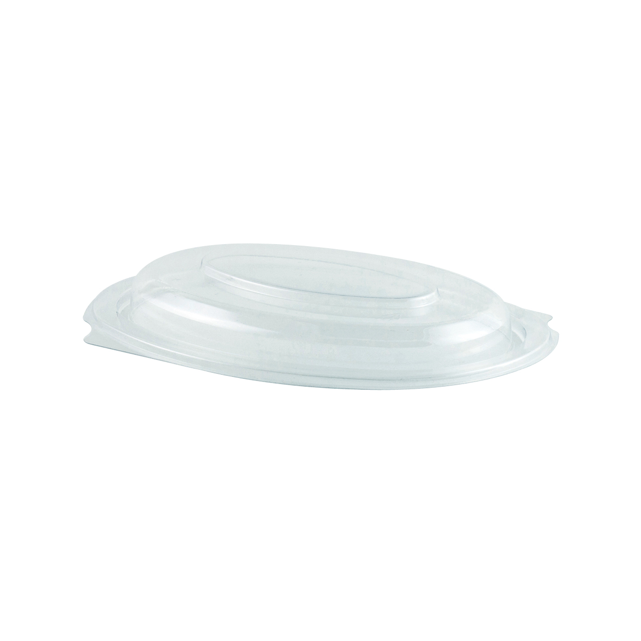 4409000 LC9D Microraves Clear Dome Lids (Not Microwaveable;
