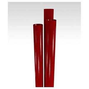"STNGT2290904 Red 9"" Giant Paper Wrapped Plastic Straws -"