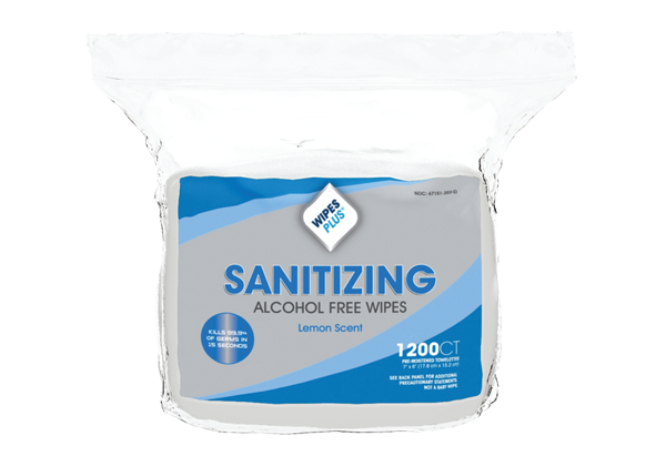37402 Sanitizing Hand Wipes - 4/1200