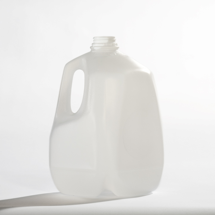 Gallon Plastic Jugs with Caps - 48