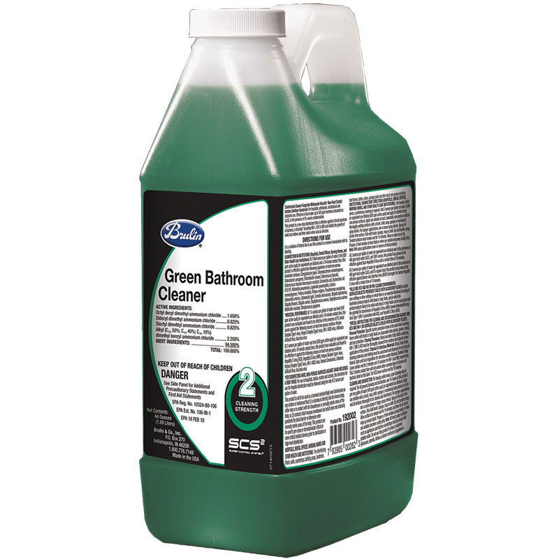 192002-33 Green Bathroom  Non-Acid Cleaner - 4(4/64oz)