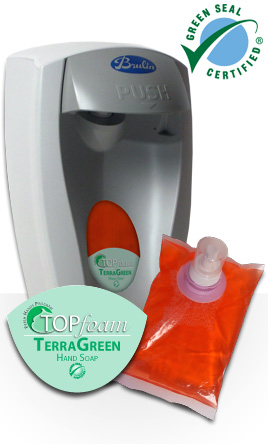171035-M4 Topfoam Terragreen Hand Soap - 4(4/1000mL)