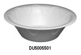 DU5006501 White 12 oz. Unlaminated Foam Bowls -