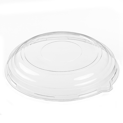 "51220 Clear 12"" Dome 2"" Lids - 50"
