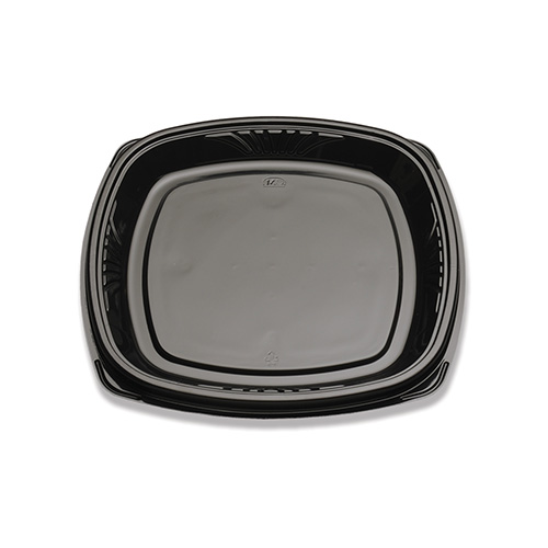 "BP713-120-1 Black Forum 12"" Cater Trays - 60(2/30)"
