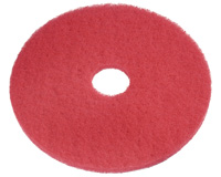 "404419 19"" Red Buffing Pads - 5"