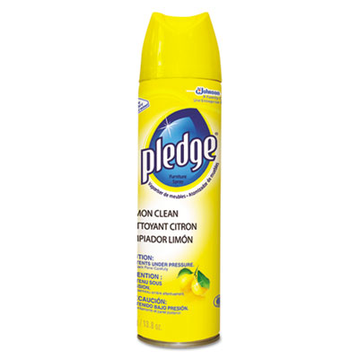 SJN682275 Pledge Lemon Furniture Polish - 6(6/13.8oz)
