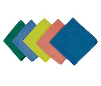 LFK700/MS-YE40300 Yellow 16x16 Microfiber Cloths - 25