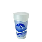 20J16H Horizon 20 oz. Stock Print Foam Cup - 500(20/25)