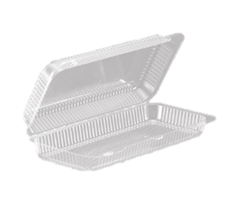 SLP95 Pastry Hinged Container (12.7x5.6x2.5) - 200