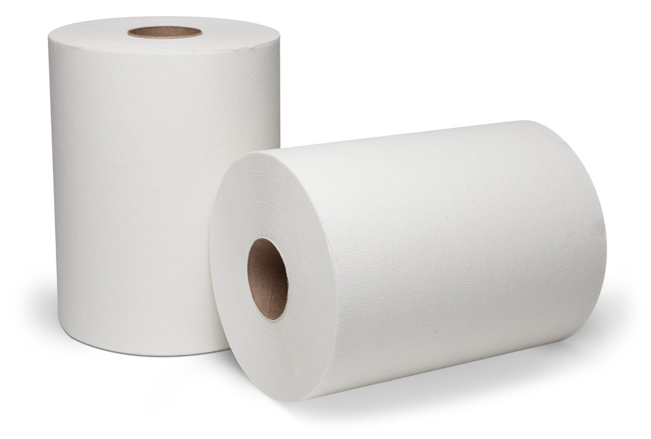 74540/7674540 White DublNature Controlled Roll Towels(450')