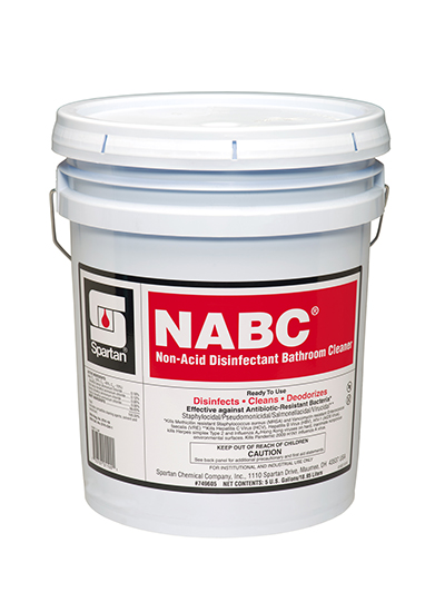 749605 NABC Non-Acid Bowl Cleaner - 1(5 Gal.)
