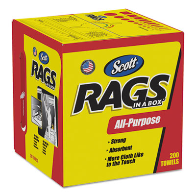 75260 Multi Purpose Rags In A Box - 1600(8/200)