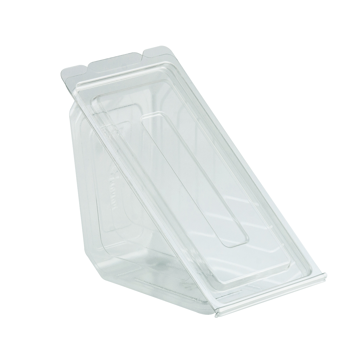 4511019 DV1101 Deliview Clear Hinged Sandwich Wedge