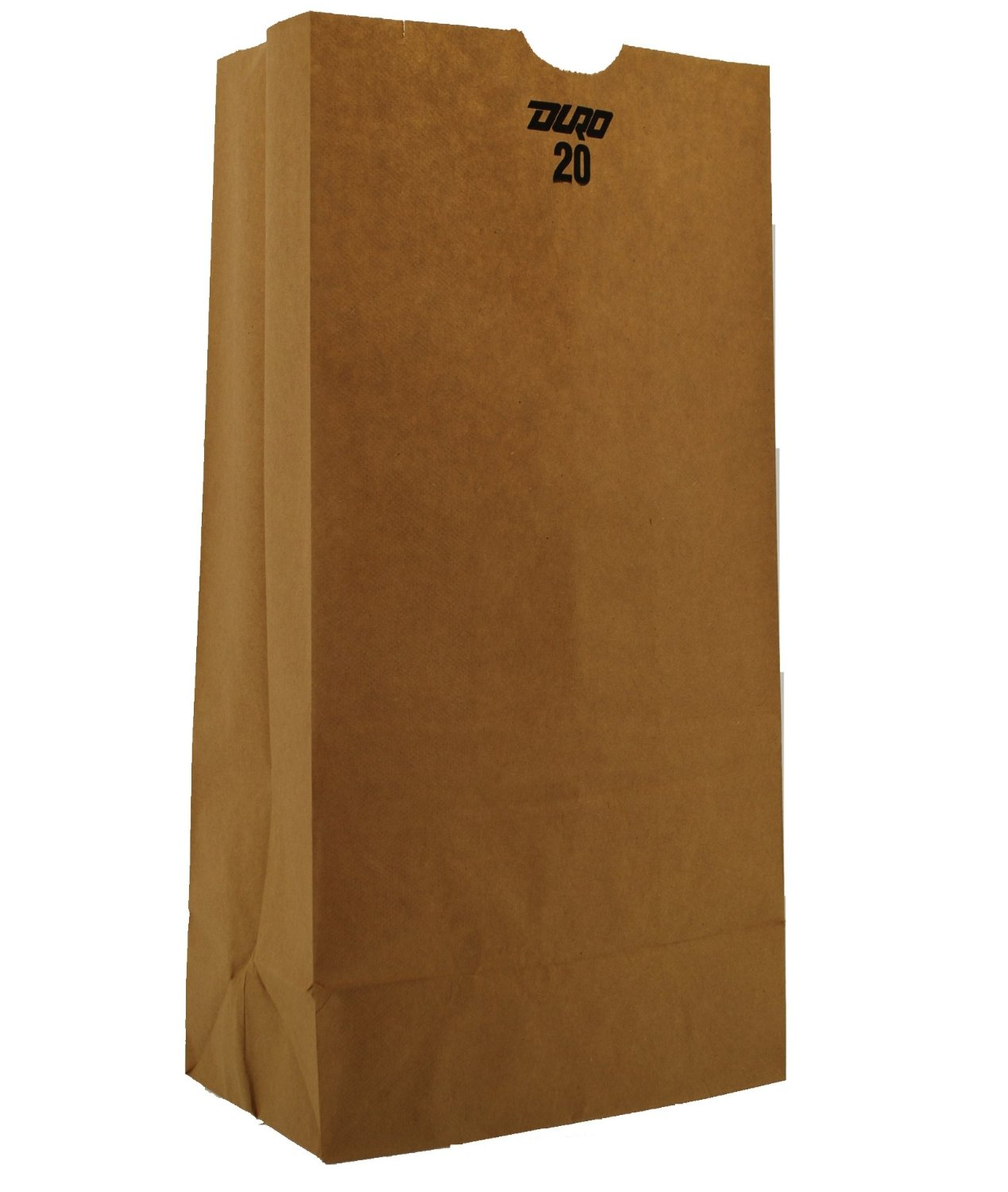 "20# Regular Natural 8.25"" x 5.31"" x 16.12"" Grocery Bags -"