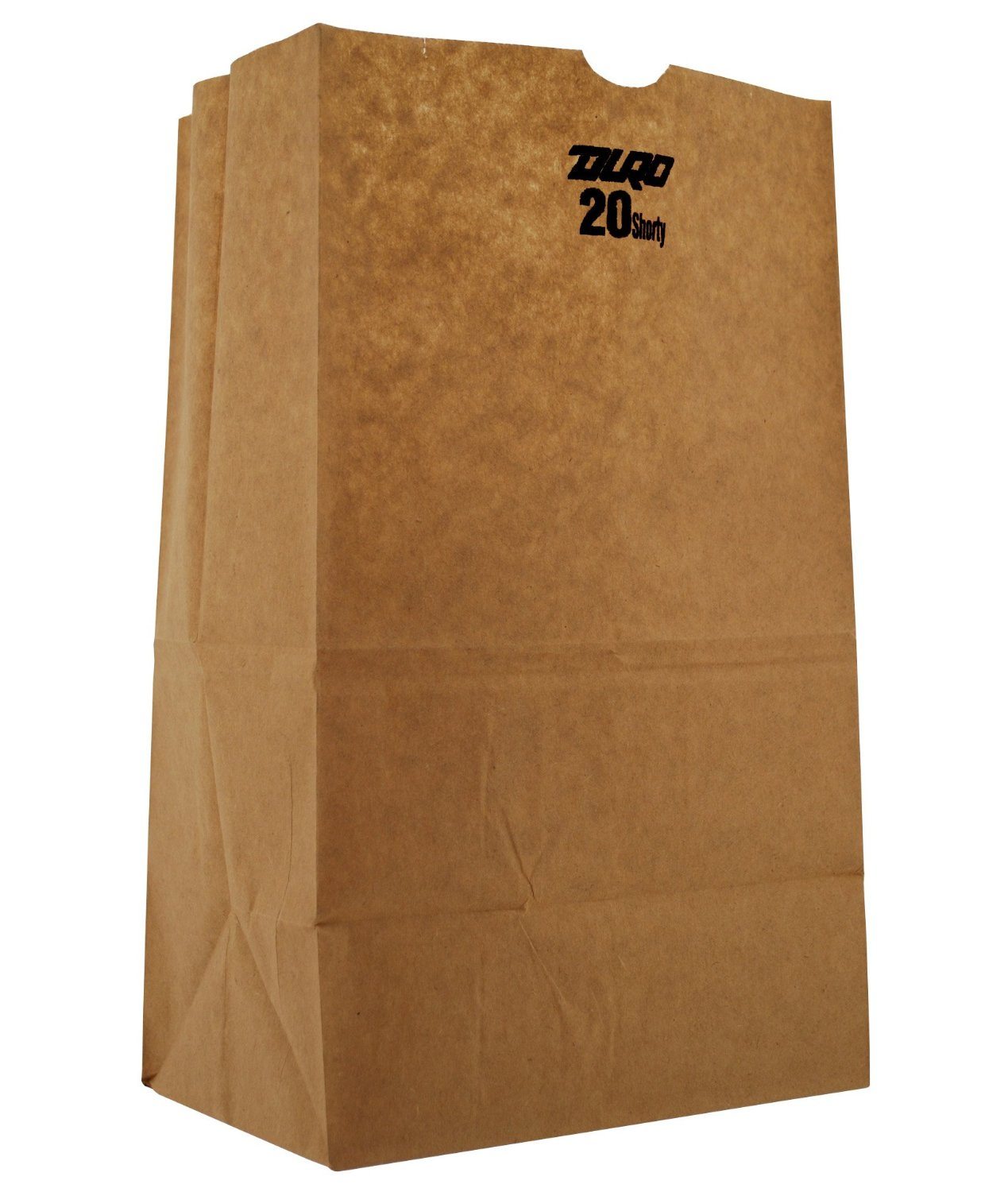 "20# Short Natural 8.25"" x 5.31"" x 13.38"" Grocery Bags -"