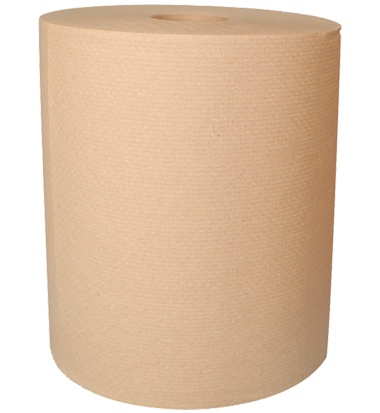 "30700 React 8"" x 800' Brown Roll Towel - 6"
