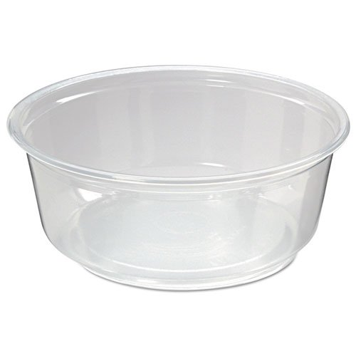 PK8S-C Clear 8 oz. Pro-Kal Microwavable Deli Containers