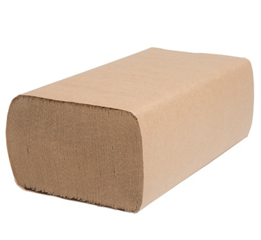 "H175 Select 9.25"" x 9.25"" Natural Multifold Towel -"