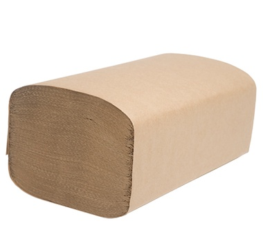 "H165 Select 9.25"" x 10.25"" Natural Single Fold Towel -"