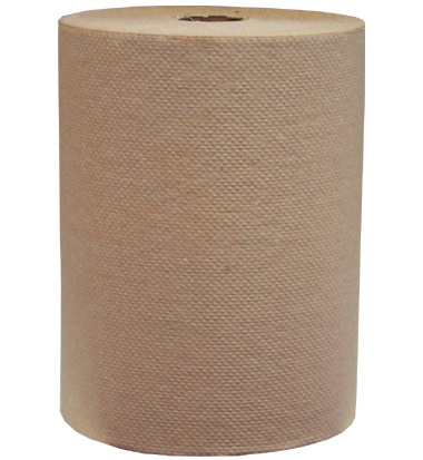 "H235 Select Natural 7.9"" x 350' Roll Towels - 12(12/350')"