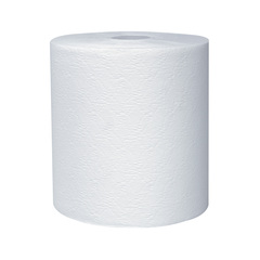 50606 Kleenex Hard Roll Towel White (8x600') - 6