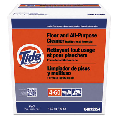 PGC02364 Tide Powder Floor & All Purpose Cleaner - 1 (36lb)